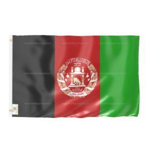 Afghanistan National Flag - Outdoor Flag 3' X 4.5'