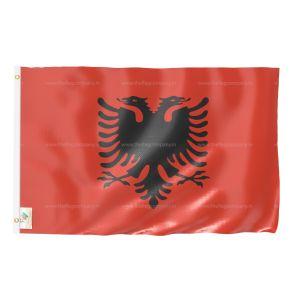 Albania National Flag - Outdoor Flag 2' X 3'