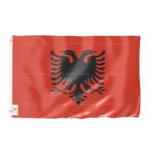 Albania National Flag - Outdoor Flag 4' X 6'