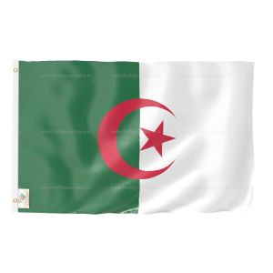 Algeria National Flag - Outdoor Flag 3' X 4.5'