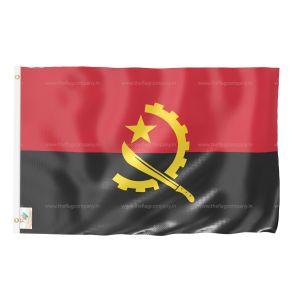 Angola National Flag - Outdoor Flag 3' X 4.5'