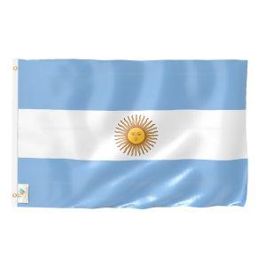 Argentina National Flag - Outdoor Flag 3' X 4.5'