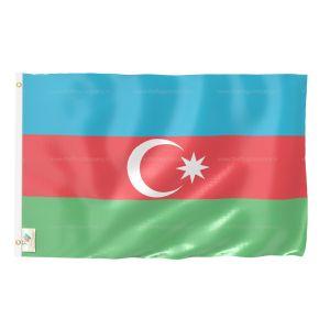 Azerbaijan National Flag - Outdoor Flag 3' X 4.5'