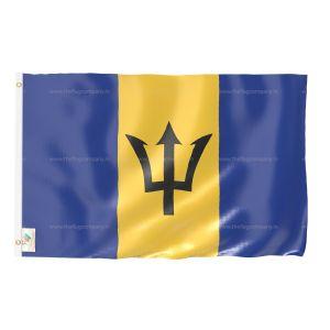 Barbados National Flag - Outdoor Flag 3' X 4.5'