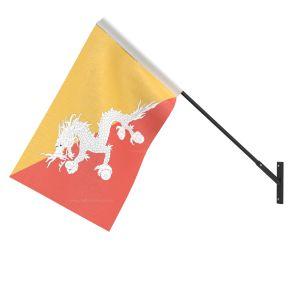 Bhutan National Flag - Wall Mounted