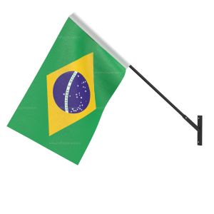 Brazil National Flag - Wall Mounted