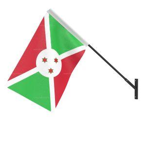 Burundi National Flag - Wall Mounted