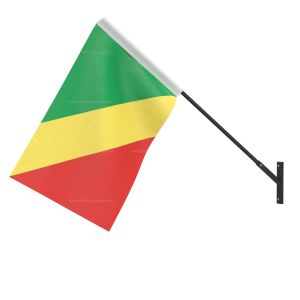 Congo, Republic of (Brazzaville) National Flag - Wall Mounted
