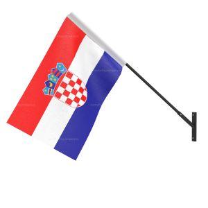 Croatia National Flag - Wall Mounted