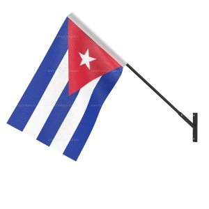 Cuba National Flag - Wall Mounted