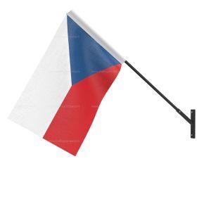 Czech Repub National Flag - Wall Mounted