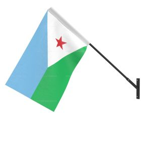 Djibouti National Flag - Wall Mounted