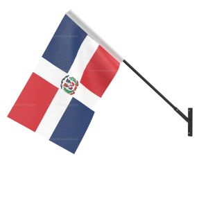 Domicia Repn National Flag - Wall Mounted