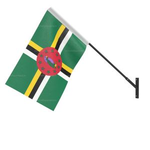 Dominica National Flag - Wall Mounted