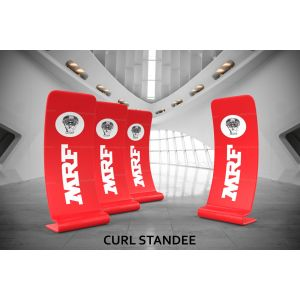 Curl Standee