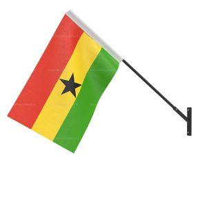 Ghana National Flag - Wall Mounted