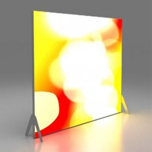 Backlit Fabric Lightbox
