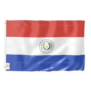 Paraguay National Flag - Outdoor Flag 4' X 6'