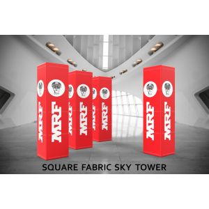 Square Fabric Sky Tower