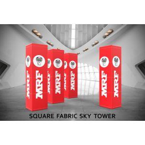 Square Fabric Sky Tower