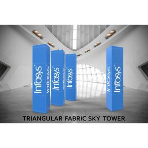 Triangular Fabric Sky Tower