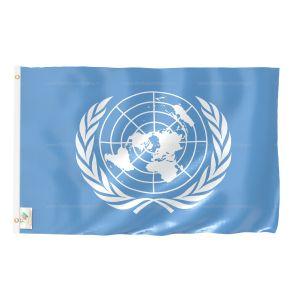 United Nation National Flag - Outdoor Flag 2' X 3'