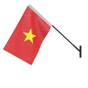 Vietnam National Flag - Wall Mounted