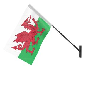 Wales National Flag - Wall Mounted