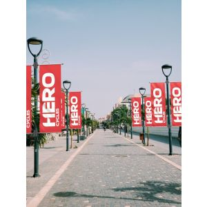 Street Light pole Banner