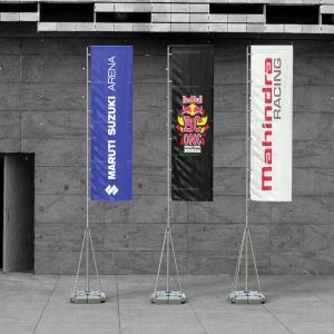 Telescopic Big Flag Stand - 5 Mtr