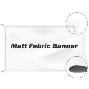 Fabric Matt Banner
