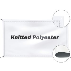 Knitted Polyester Fabric Banner