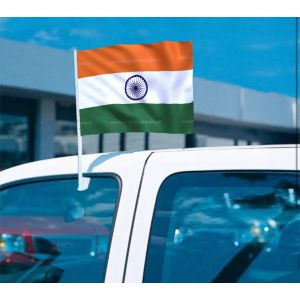 Indian Flag Stand For Car Window