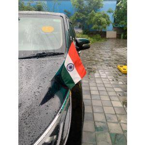 Indian Flag Stand For Car Bonnet