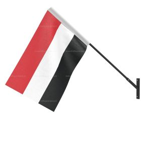 Yemen National Flag - Wall Mounted