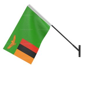 Zambia National Flag - Wall Mounted